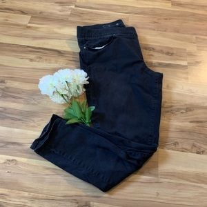 Levi's black skinny jeans with stretch waistband